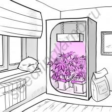 """Продвинутый светодиодный светильник для гроубоксов и гидропоники """"Альнитак"""", 1100+ мкммоль/с*кв.м, 400-2000 Вт"""